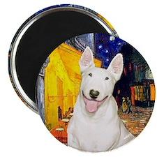 Cafe - Bull Terrier #4 Magnet