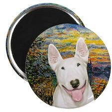 Sunset / Bull Terrier #4 Magnet