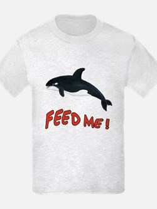 Whale - Feed Me! T-Shirt