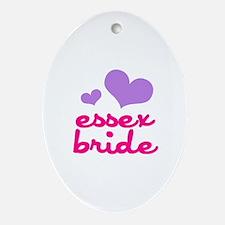 essex bride (lilac/pink) Ornament (Oval)