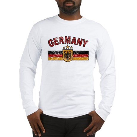 Germany Sports Shield Long Sleeve T-Shirt