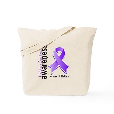 Hodgkin's Lymphoma Awareness Tote Bag