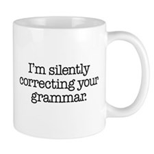Corrected Grammar Small Mug