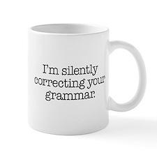 Corrected Grammar Small Small Mug