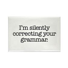 Corrected Grammar Rectangle Magnet (10 pack)