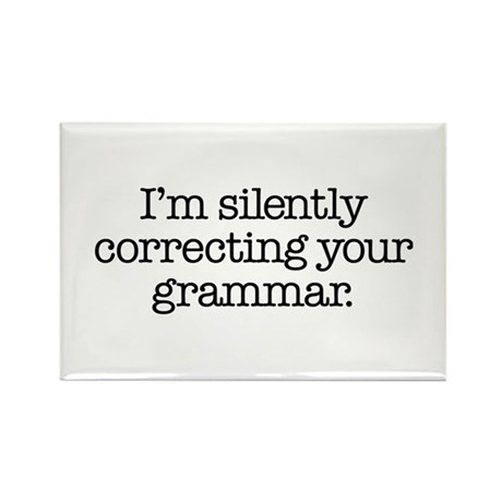 Corrected Grammar Rectangle Magnet