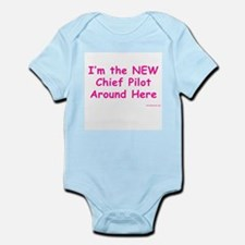 New Chief Pilot (Girl) Infant Creeper