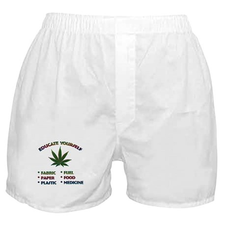 Marijuana Education - Boxer Shorts