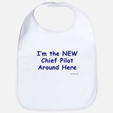 New Chief Pilot (Boy) Bib