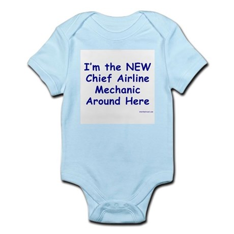 New Chief Mechanic Infant Creeper