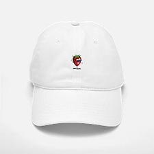 Cool Strawberry Character Baseball Baseball Cap
