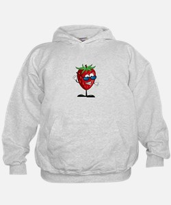 Cool Strawberry Character Hoodie