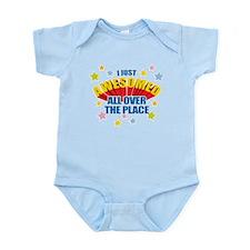 I Just Awesomed Infant Bodysuit