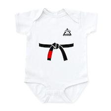 BABY JIU JITSU BLACK BELT GI Body Suit