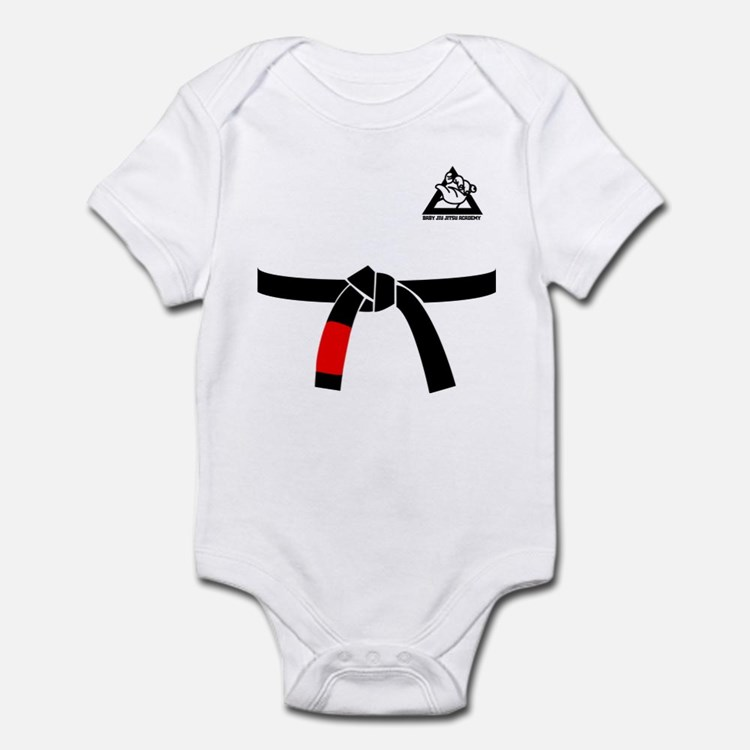BABY JIU JITSU BLACK BELT GI Body Suit