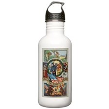 Loyalty Patriotism Service Water Bottle