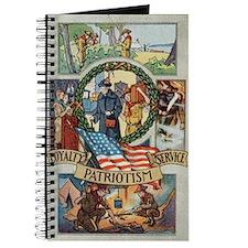 Loyalty Patriotism Service Journal