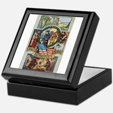 Loyalty Patriotism Service Keepsake Box