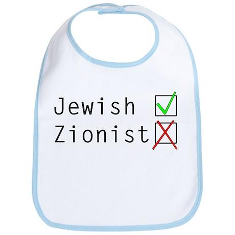 Jewish NOT Zionist Bib