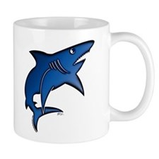 Blue Mako Shark Coffee Mug