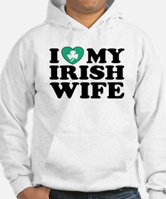 I Love My Irish Wife Hoodie