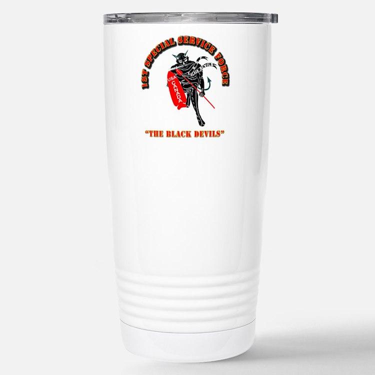 SOF - 1st SSF - Black Devils Travel Mug