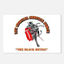 SOF - 1st SSF - Black Devils Postcards (Package of