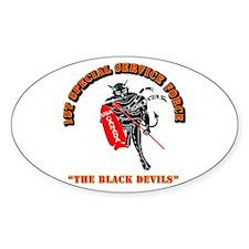 SOF - 1st SSF - Black Devils Bumper Stickers