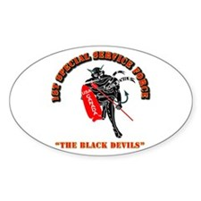 SOF - 1st SSF - Black Devils Decal