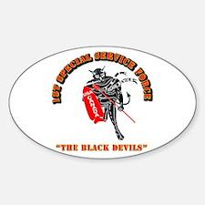SOF - 1st SSF - Black Devils Decal