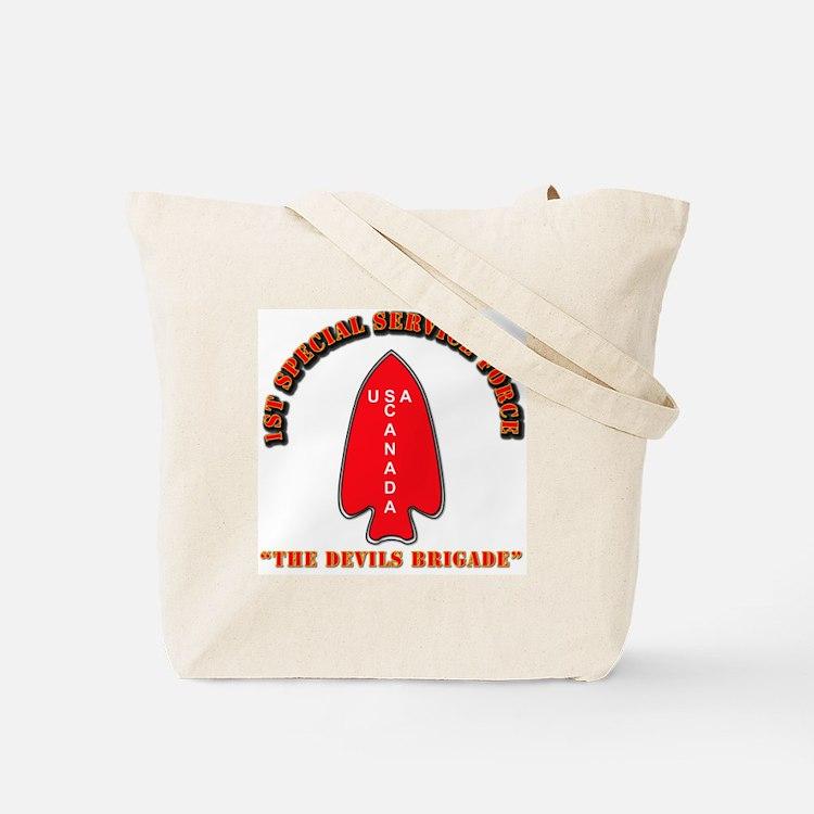 SOF - 1st SSF - Black Devils Tote Bag