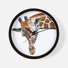Giraffe Profile Wall Clock