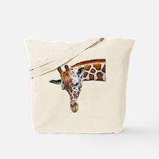 Giraffe Profile Tote Bag