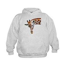Giraffe Profile Hoodie