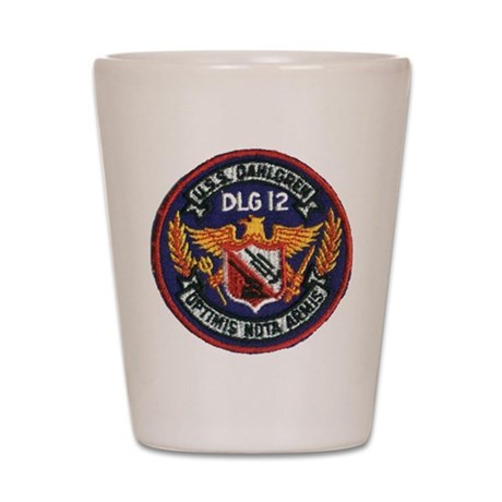 USS DAHLGREN Shot Glass