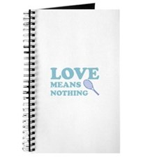 love means nothing (blue) Journal