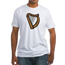 Celtic Harp Icon Shirt
