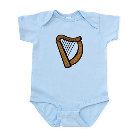 Celtic Harp Icon Infant Bodysuit
