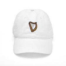 Celtic Harp Icon Baseball Cap