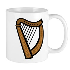 Celtic Harp Icon Mug