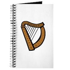 Celtic Harp Icon Journal