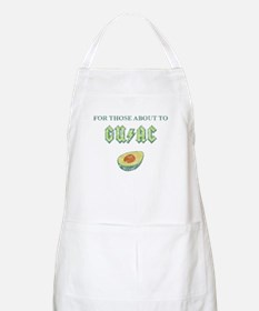 For Those About to Guac Apron