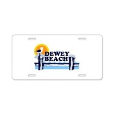 Dewey Beach DE - Pier Design Aluminum License Plat