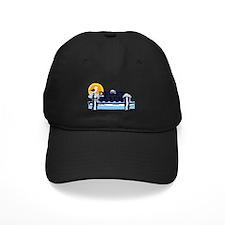 Dewey Beach DE - Pier Design Baseball Hat