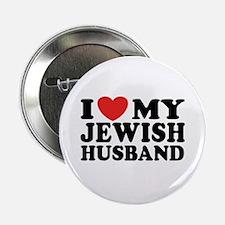 I Love My Jewish Husband Button