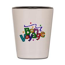 Bon Voyage Shot Glass