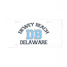 Dewey Beach DE - Varsity Design Aluminum License P