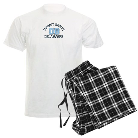 Dewey Beach DE - Varsity Design Men's Light Pajama