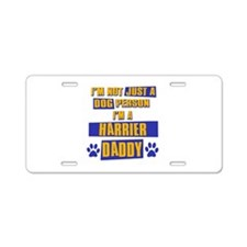 Harrier Daddy Aluminum License Plate