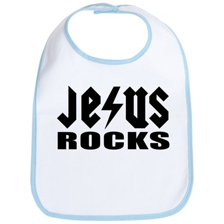 Jesus Rocks #4 Bib